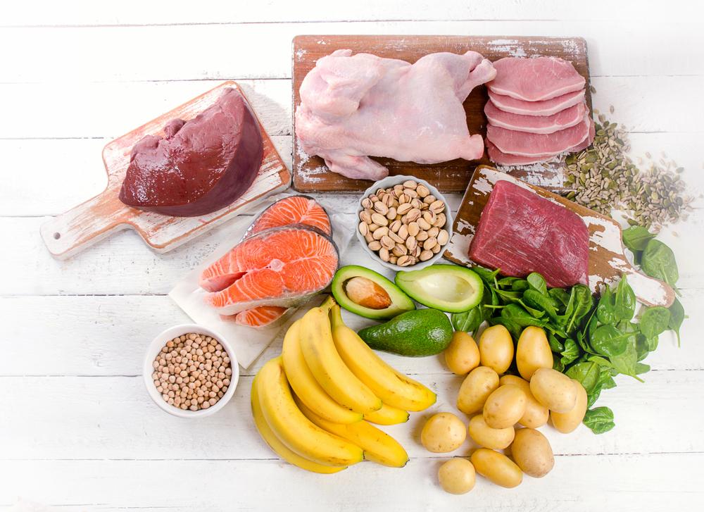 ビタミンBを含む食品