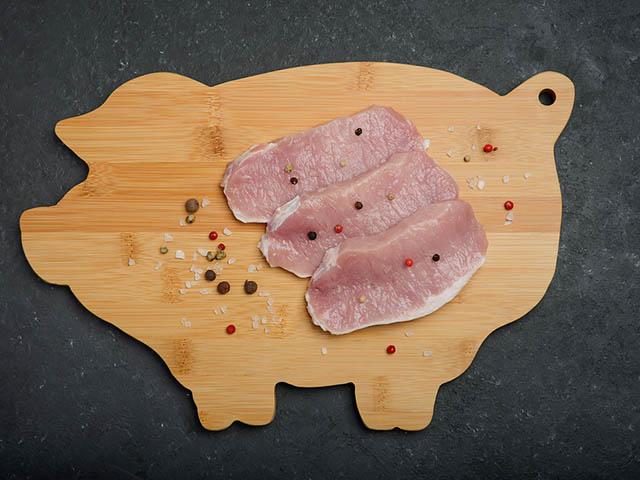 豚肉と香辛料