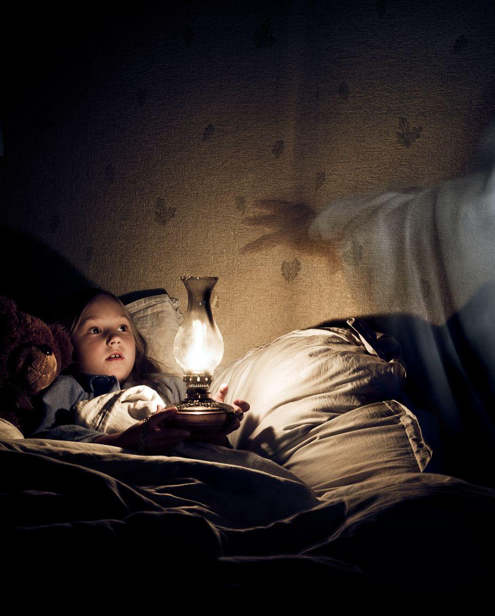 寝る前の子供