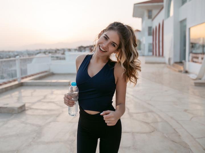 健康的な女性