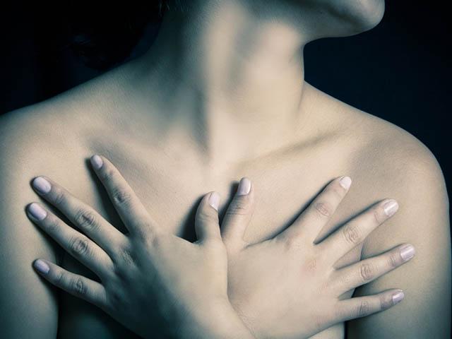 乳がん女性