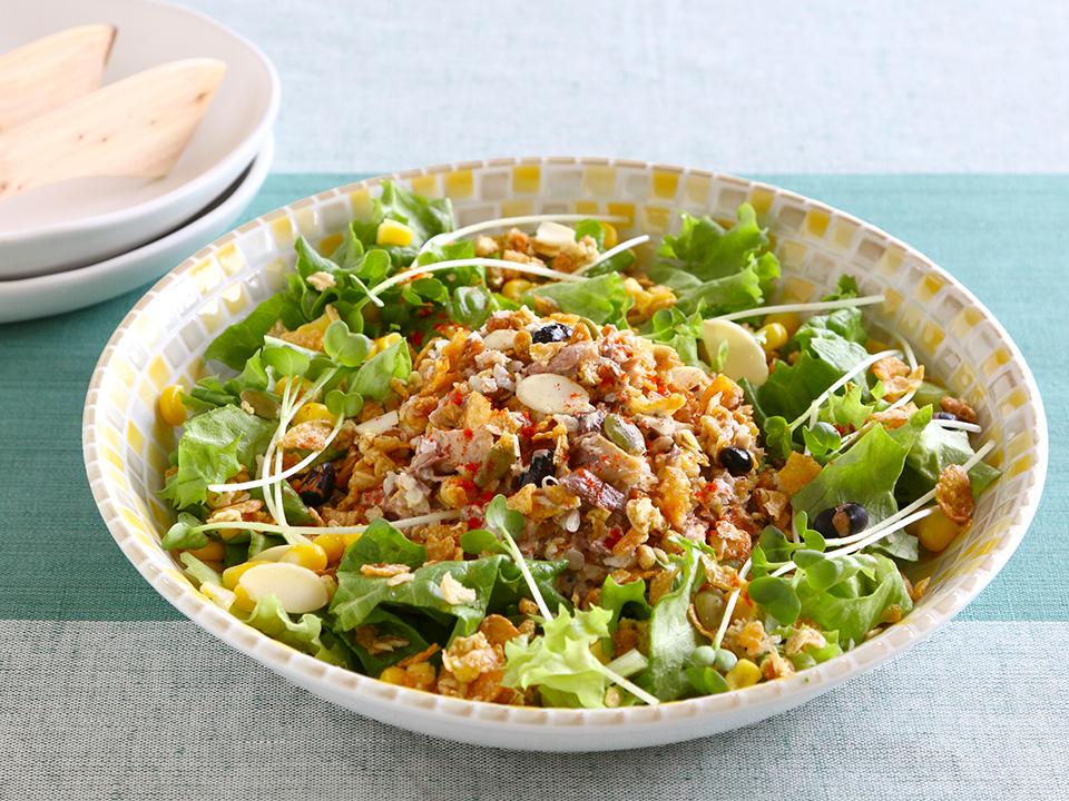 サバグラサラダ