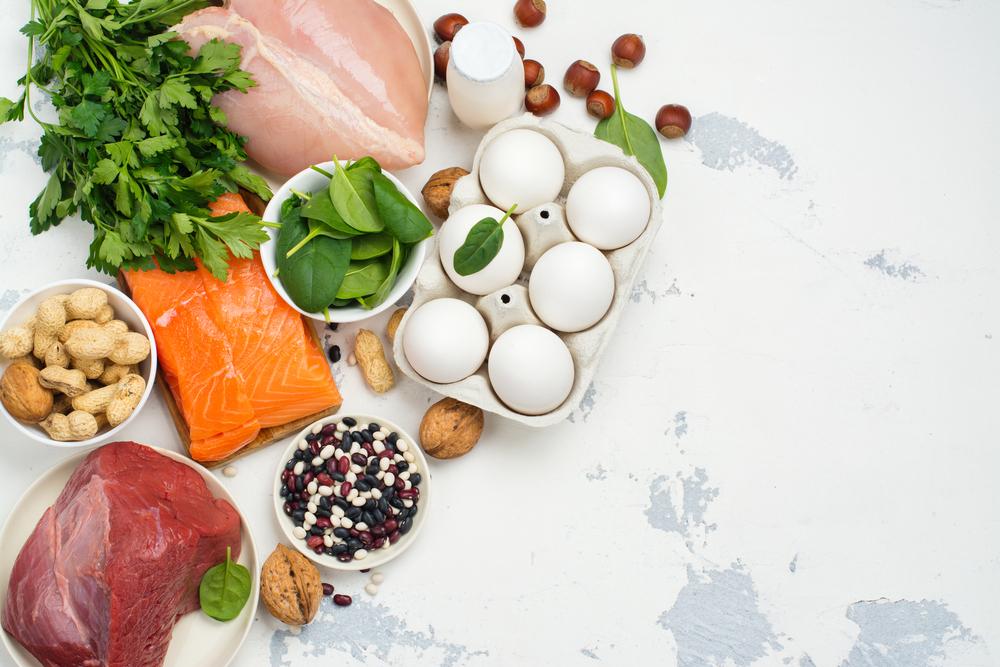 タンパク質の多い食品