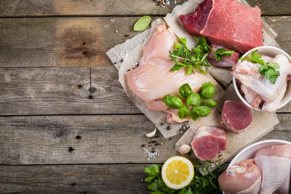 鶏肉と豚肉