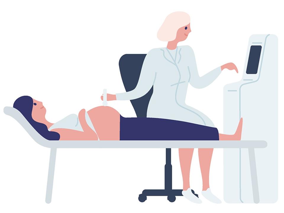 妊婦の検診