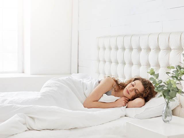 快眠な女性