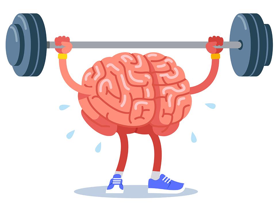 筋トレする脳