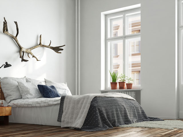寝室の空気をきれいに保つ