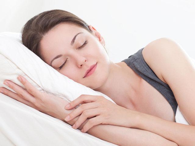 寝つきをよくする姿勢