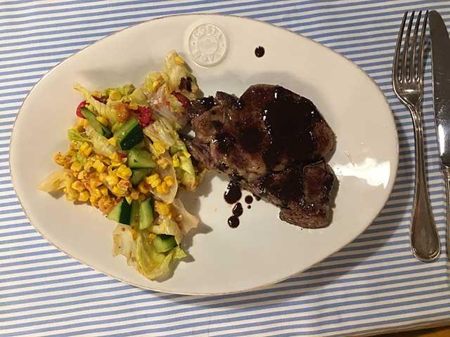 オーストラリアンビーフのステーキ
