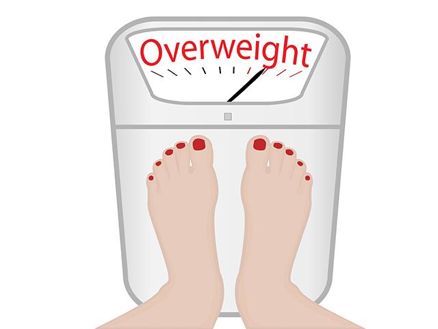 体重オーバー