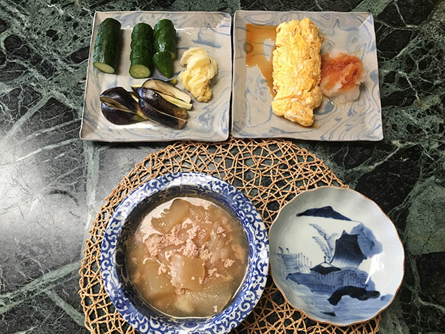 冬瓜スープ丼