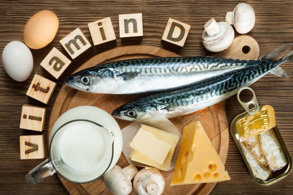 ビタミンDを含む食材