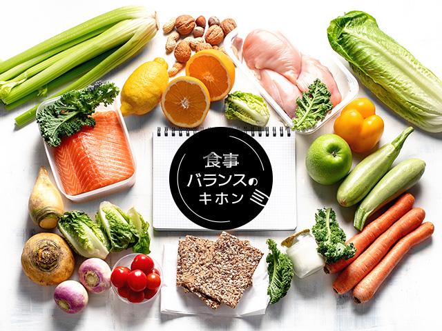 栄養バランスの図
