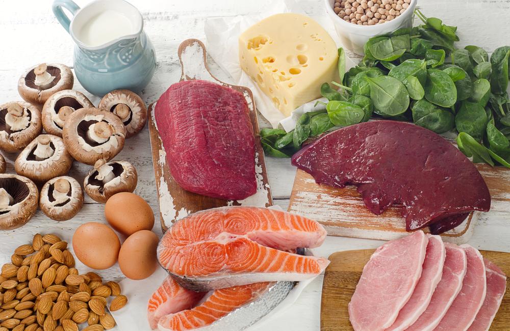 ビタミンBの多い食材