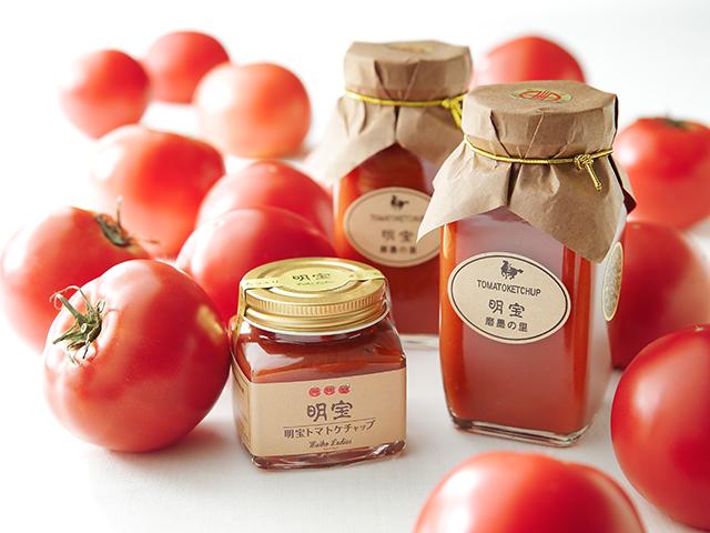 明宝レディースの明宝トマトケチャップ