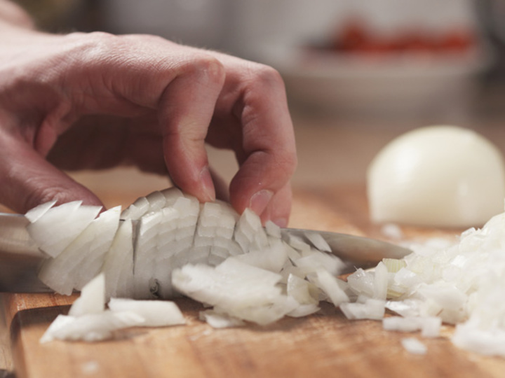 タマネギの切り方