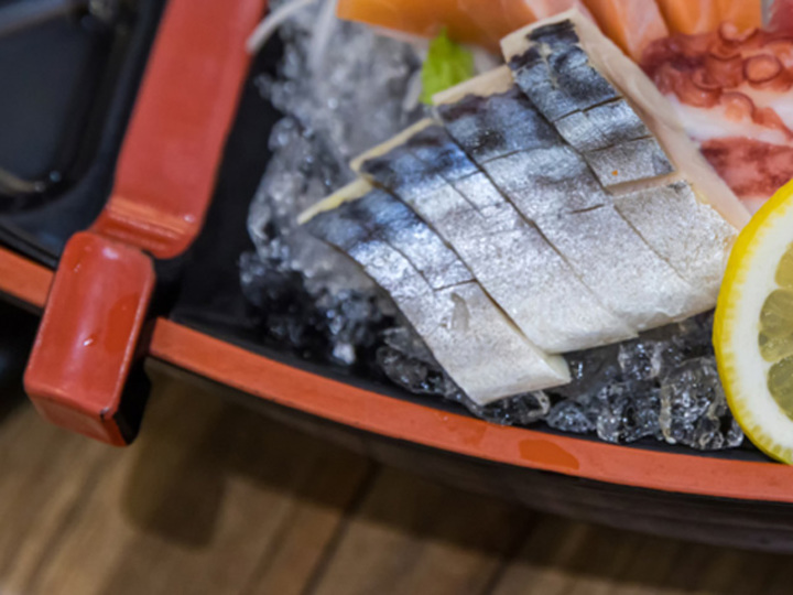青魚は刺身がベスト