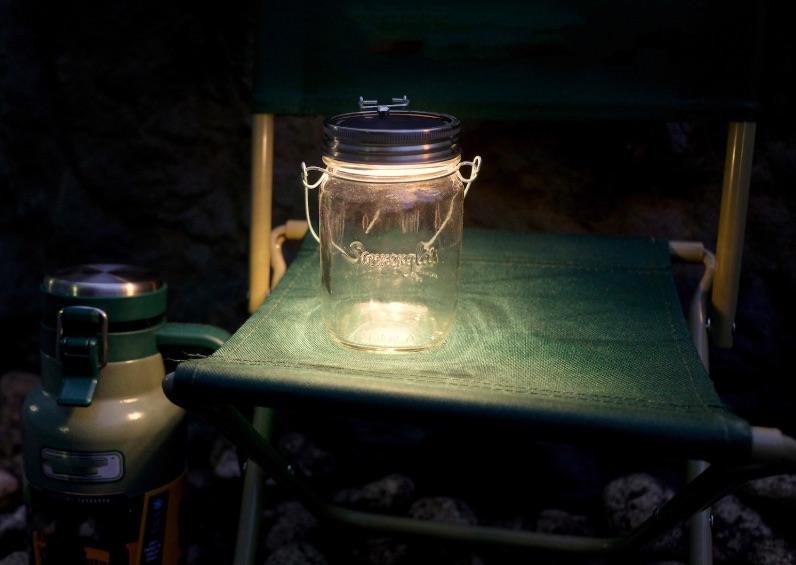 キャンプでも使用できるソネングラス