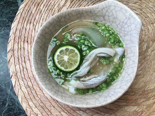 タチウオ鍋小皿