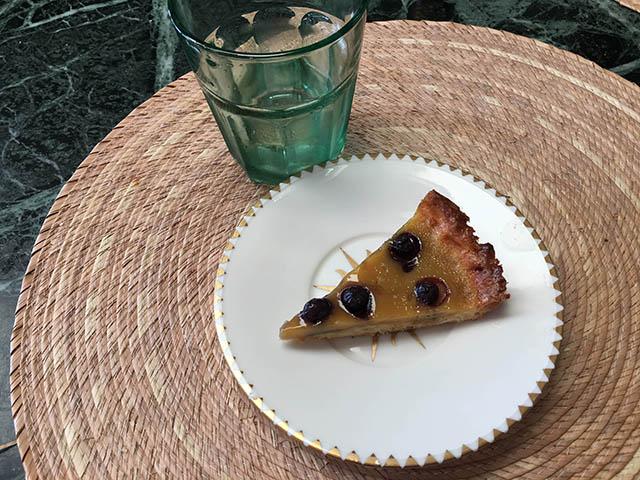 tarte de myrtille