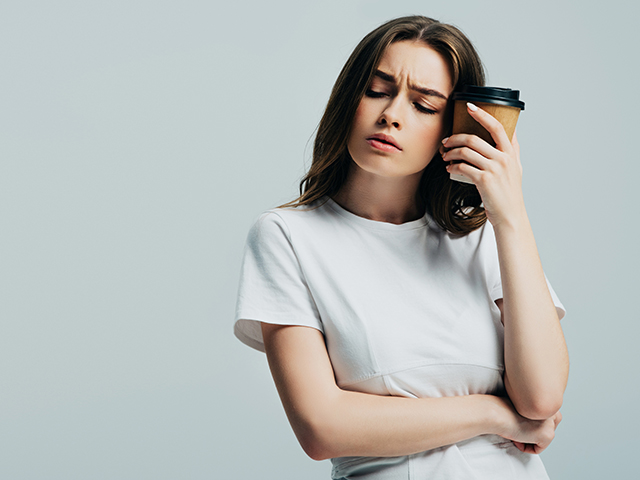 コーヒーによる偏頭痛
