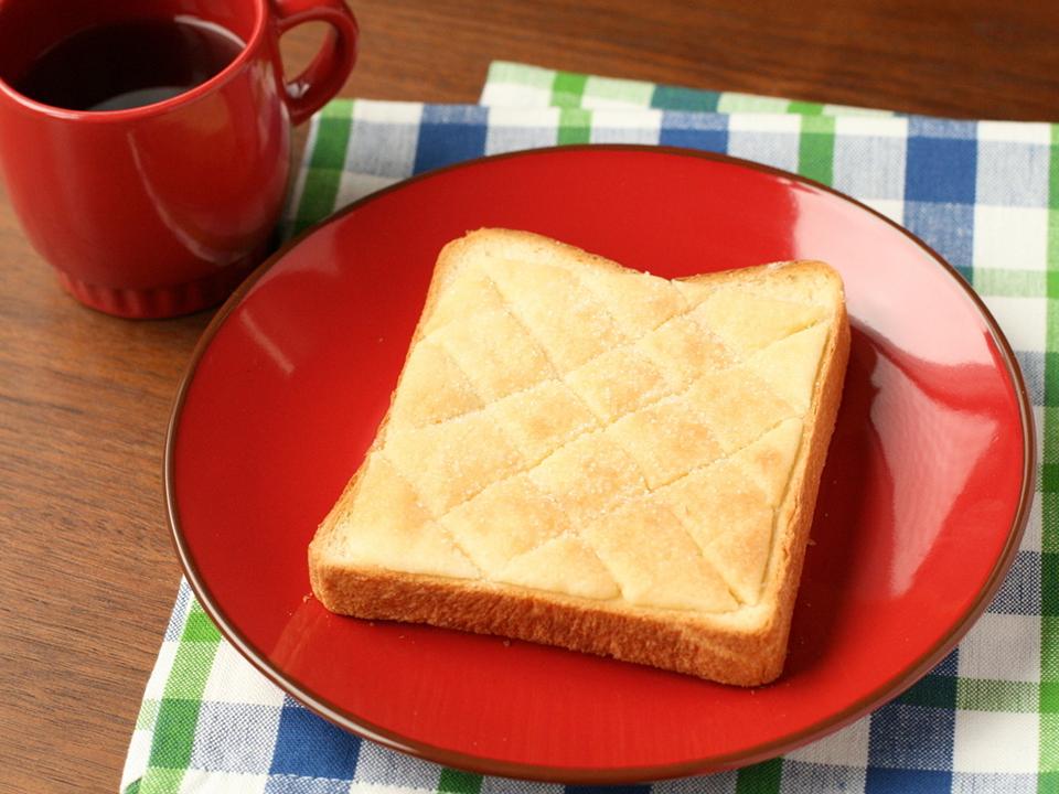 トーストで作るメロンパン