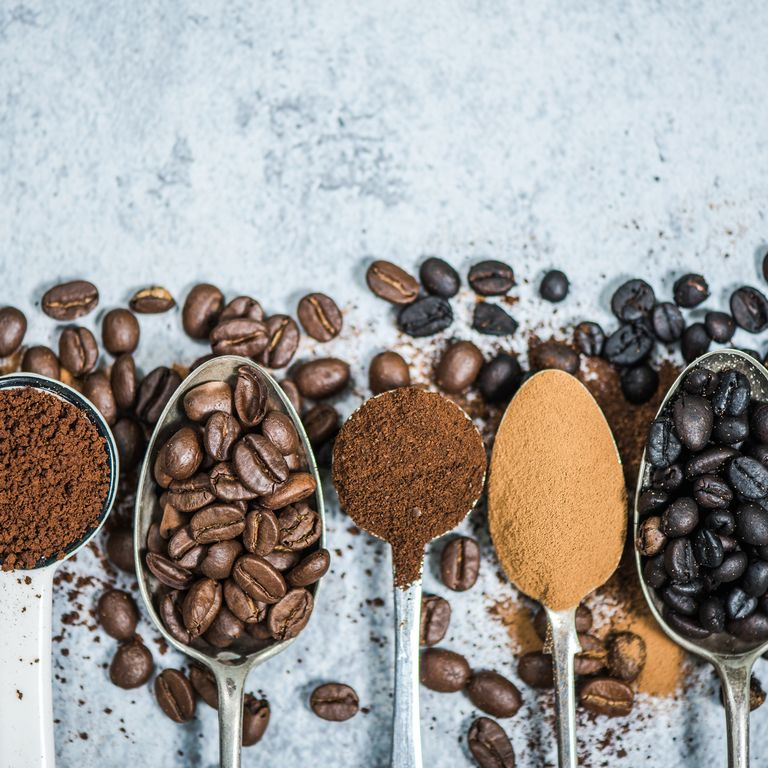 コーヒーとスプーン