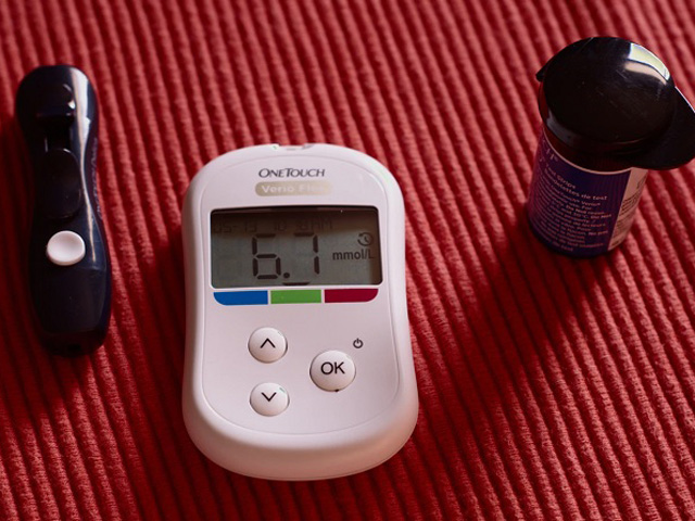 糖尿病の計測機器
