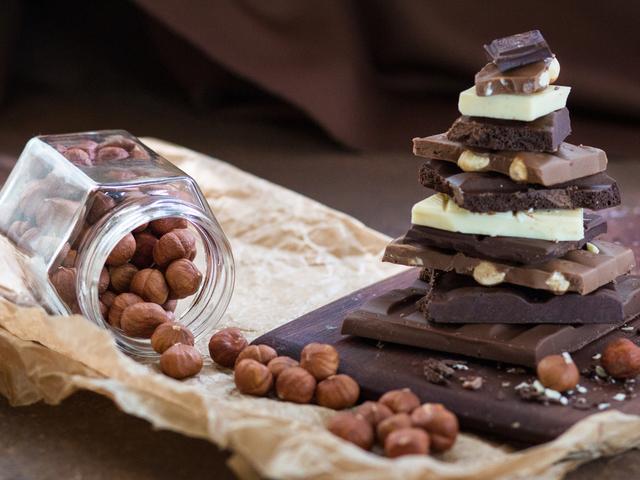 チョコとナッツ