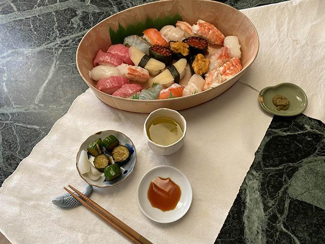 京急の寿司