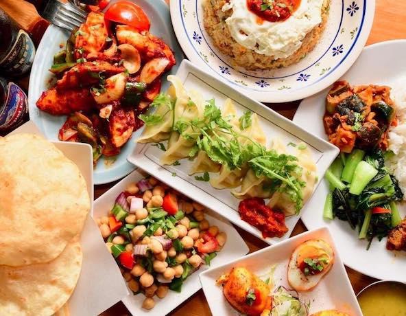 ネパール家庭料理のいろいろ