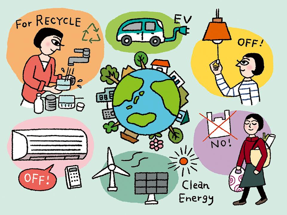 環境のマインドフルネス