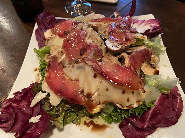 マッシュルームのサラダ