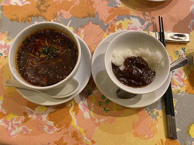 07担々麺とカレー