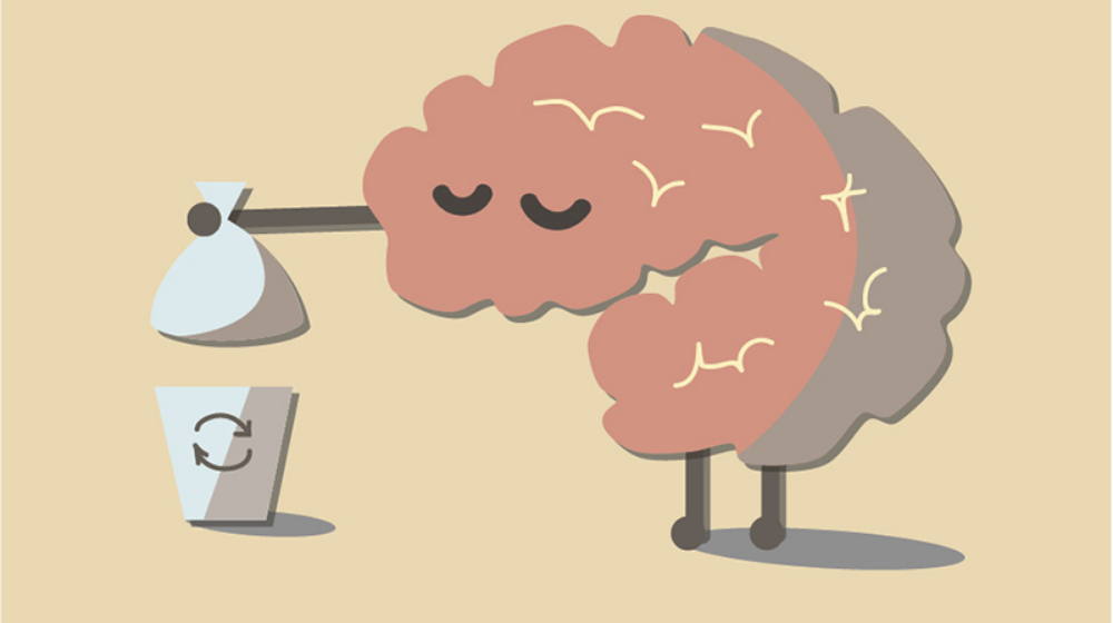 ゴミを捨てる脳