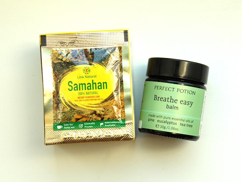 サマハンとパーフェクトポーションのブリーズイージー バーム