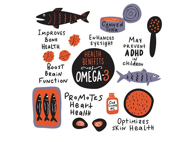 オメガ3系脂肪酸のベネフィット