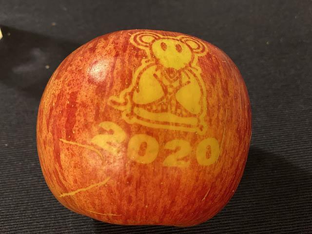 2020年のりんご