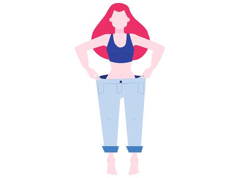 病気 減る 体重 が