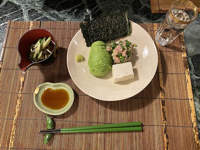 アボガド豆腐