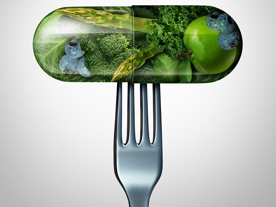栄養素が詰まったカプセル