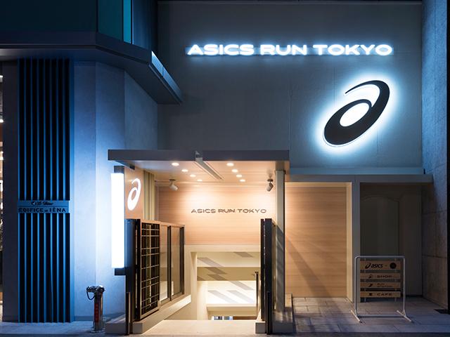 ASICS RUN TOKYO MARUNOUCHIのエントランス