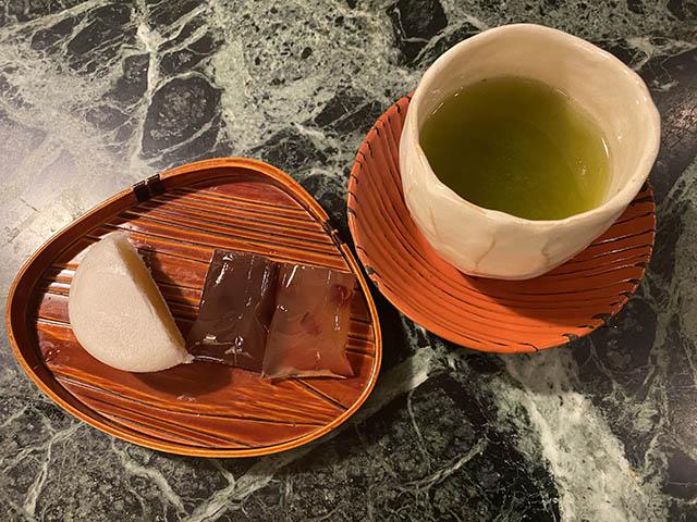日影茶屋のお菓子