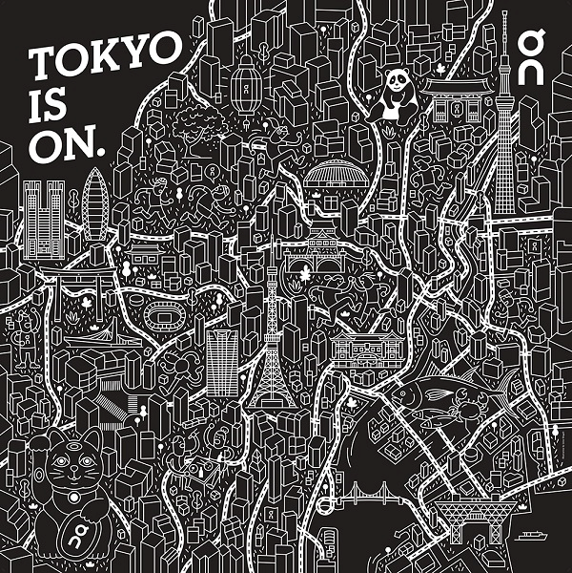 Onのキャンペーン「TOKYO IS ON」