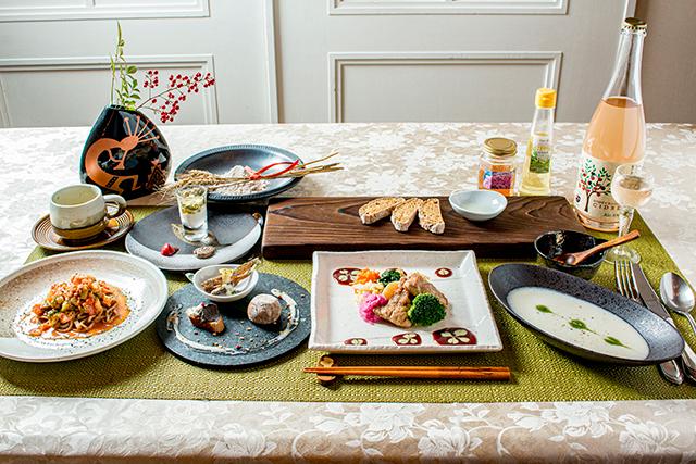 健菜樂食Zenのコース料理