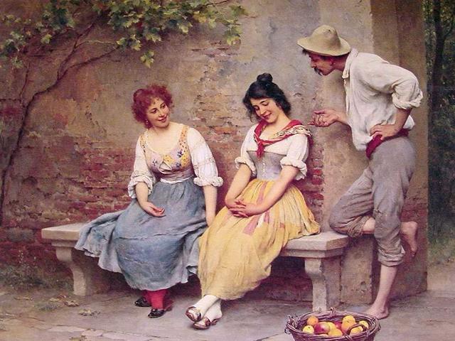 中世時代の人々