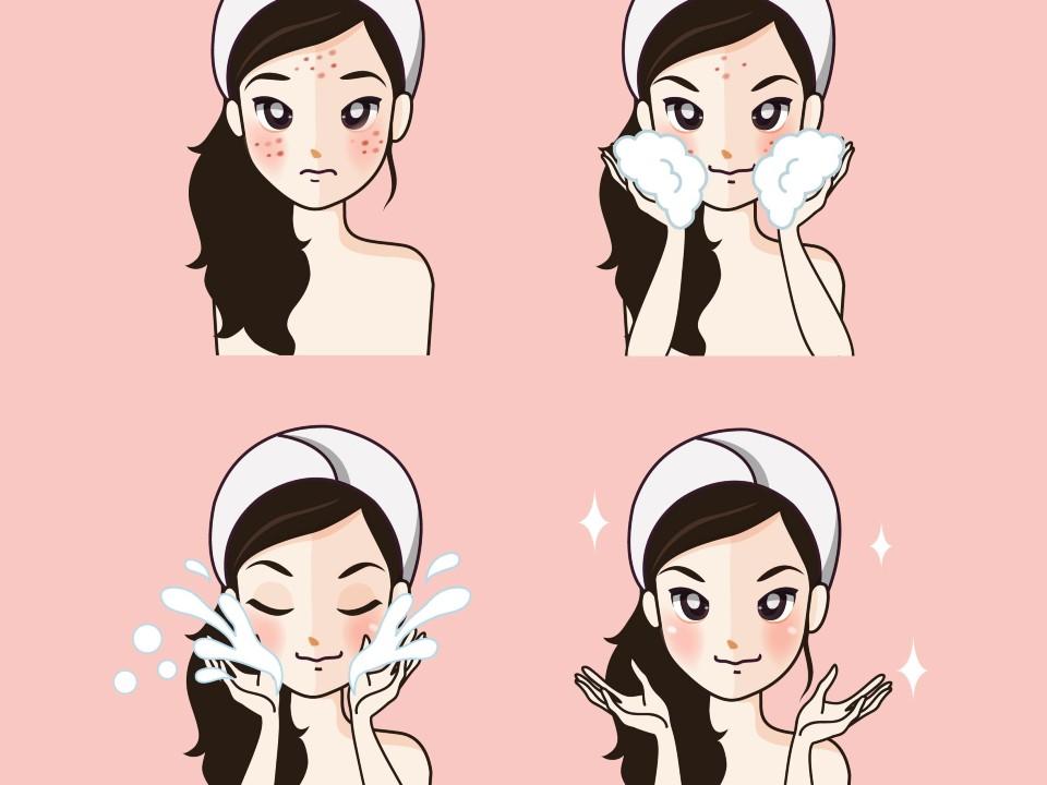 アトピー肌の洗顔