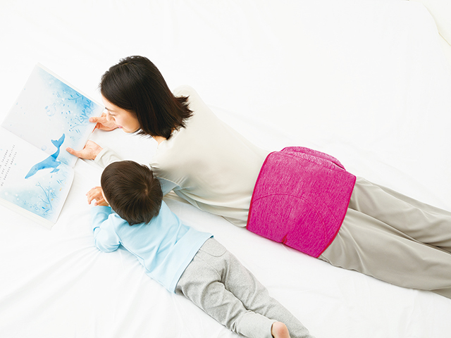 パナソニックのコードレス骨盤おしりリフレは寝転んでも使える