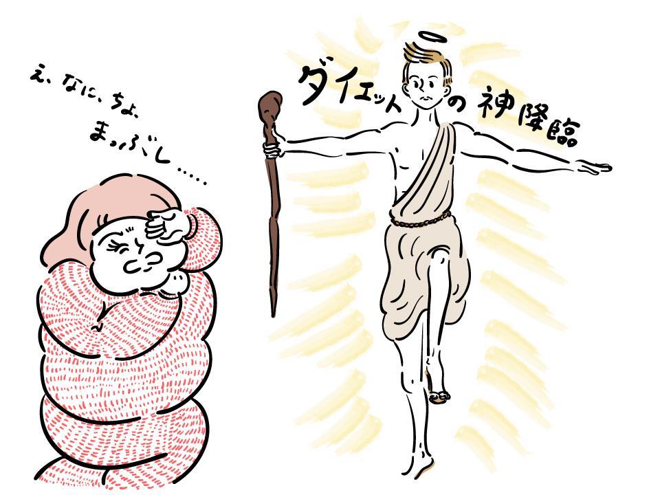 ダイエットの神とライターP子